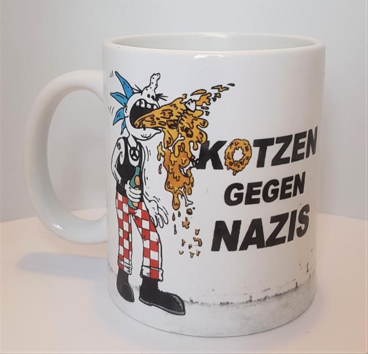 KOTZEN GEGEN NAZIS KAFFEEBECHER