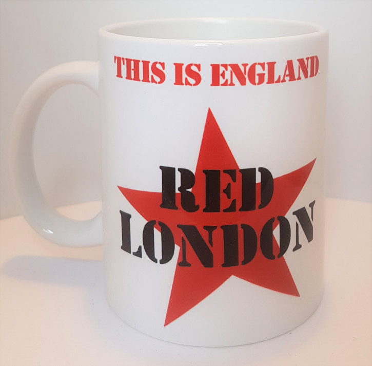 RED LONDON KAFFEEBECHER