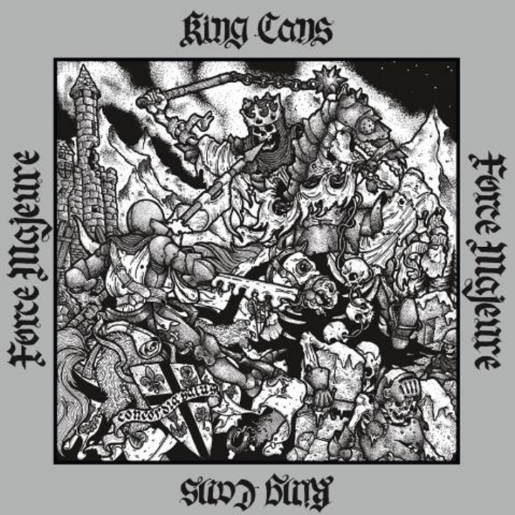 King Cans/Force Majeure - Split LP