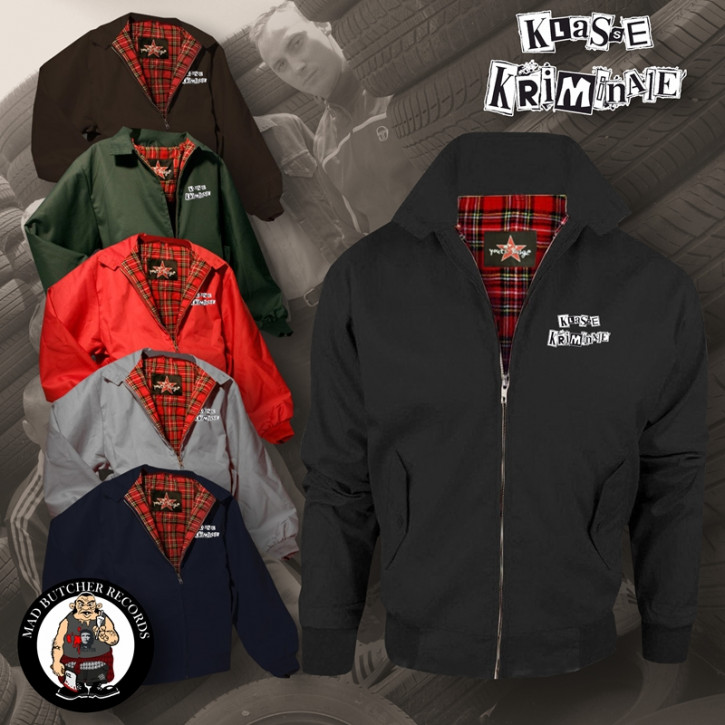 KLASSE KRIMINALE HARRINGTON JACKET