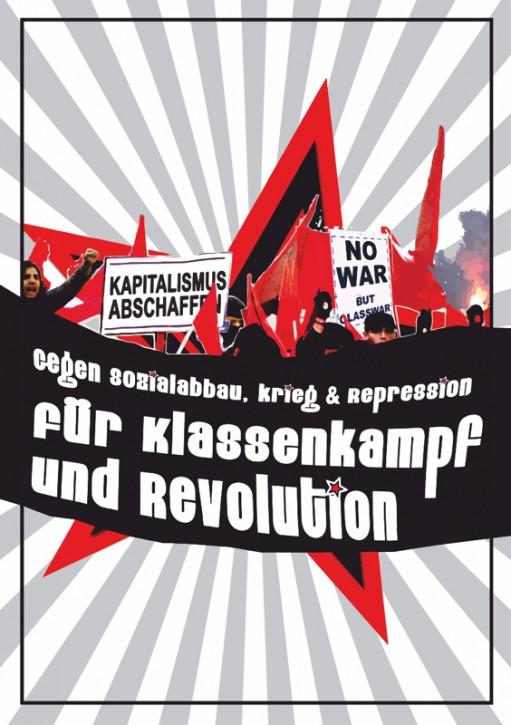 KLASSENKAMPF UND REVOLUTION AUFKLEBER (10 Stück)
