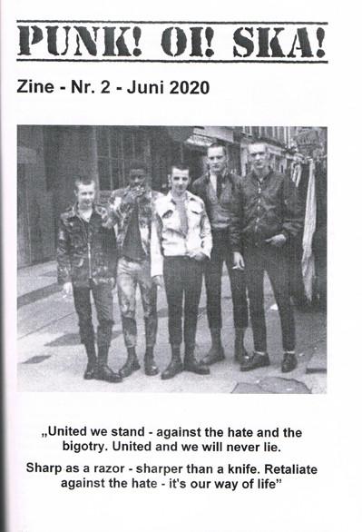 Punk! Oi! Ska! Zine Nr.2 Juni 2020