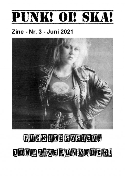 Punk! Oi! Ska! Fanzine - Ausgabe 3 / Mai 2021