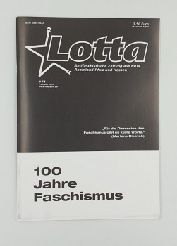 Lotta #74 Frühjahr 2019