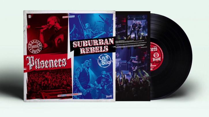Pilseners Vs Suburban Rebels - Live & Loud LP