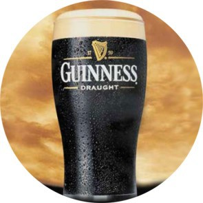 GUINESS II BUTTON