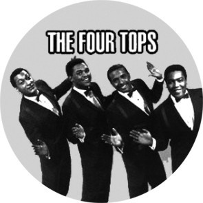 FOUR TOPS BUTTON