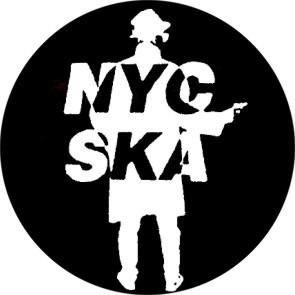 NYC SKA BUTTON