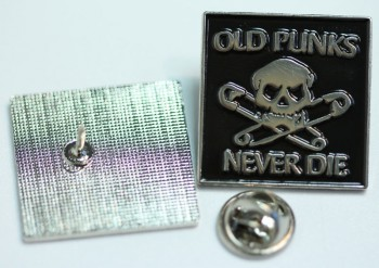 OLD PUNKS NEVER DIE PIN