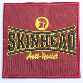 SKINHEAD ANTI-RACIST PATCH