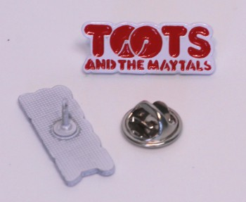 TOOTS & THE MAYTALS RED PIN