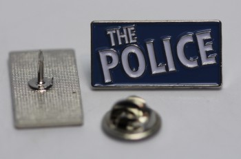 THE POLICE BLUE PIN