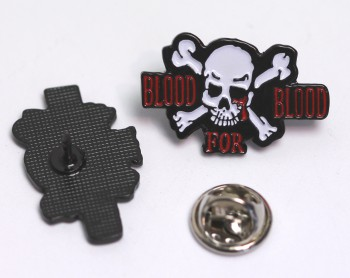 BLOOD FOR BLOOD PIN