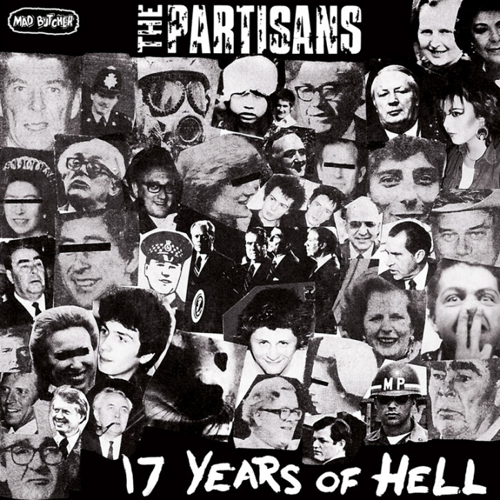 PARTISANS 17 YEARS OF HELL EP
