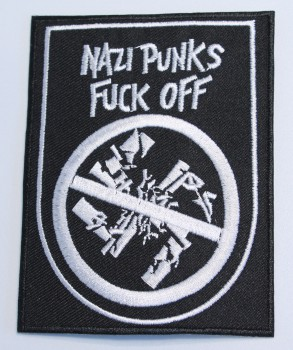 NAZI PUNKS FUCK OFF PATCH