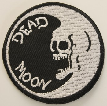DEAD MOON ROUND PATCH