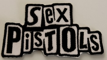 SEX PISTOLS SCHRIFT PATCH
