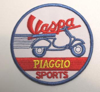 VESPA PIAGGIO SPORTS PATCH
