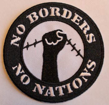 NO BORDERS NO NATIONS PATCH