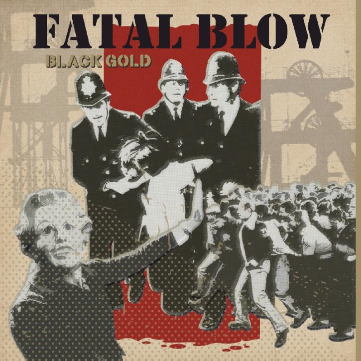 FATAL BLOW BLACK GOLD LP + CD