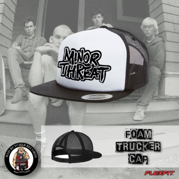 MINOR THREAT WHITE MESH CAP