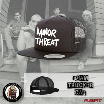 MINOR THREAT BLACK MESH CAP