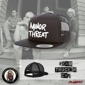 MINOR THREAT BLACK MESH CAP