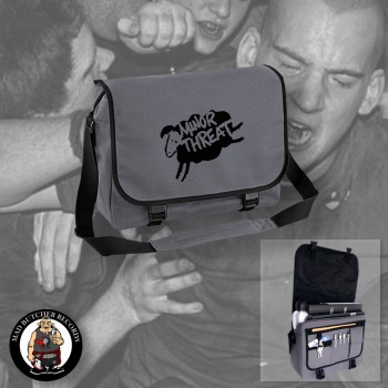 MINOR THREAT MESSENGER BAG grey