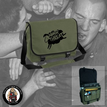MINOR THREAT MESSENGER BAG OLIVE