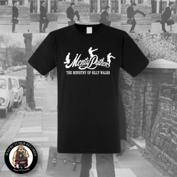 MONTY PYTHON MINISTRY OF SILLY WALKS T-SHIRT S