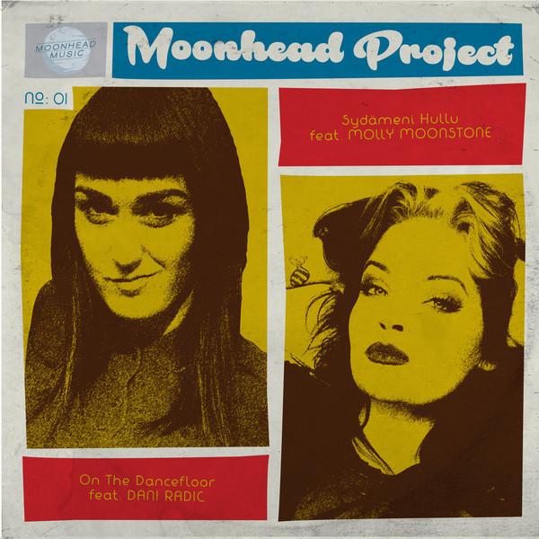 """Moonhead Project – On The Dancefloor / Sydämeni Hullu 7"""" EP"""