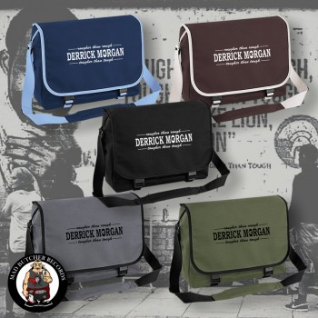 DERRICK MORGAN ROUGHER THAN ROUGH MESSENGER BAG