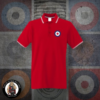 MOD TARGET POLO L / red