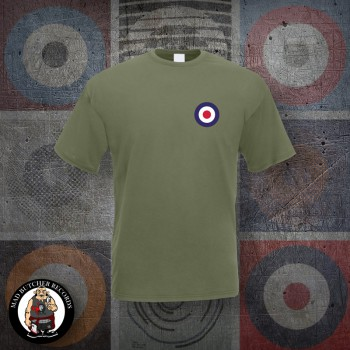 MOD TARGET SMALL T-SHIRT S / OLIVE