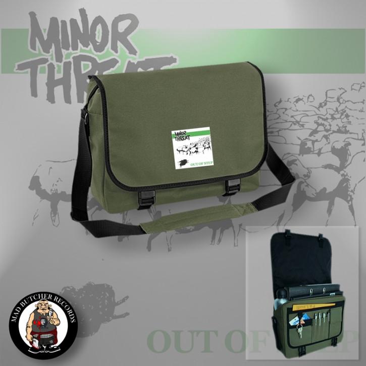 MINOR THREAT SHEEP MESSENGER BAG OLIVE
