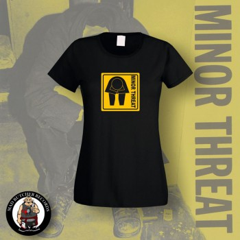 MINOR THREAT GRAFIC GIRLIE