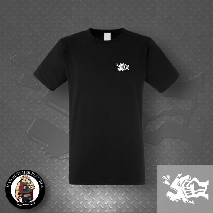 GEGEN NAZIS FIST SMALL T-SHIRT Black / L