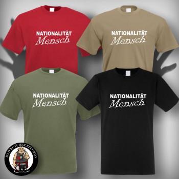NATIONALITÄT MENSCH T-SHIRT