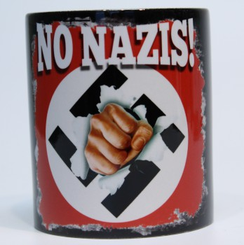 NO NAZIS KAFFEEBECHER