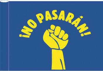 NO PASARAN FLAG