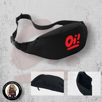 OI! RED HIPBAG Black / RED
