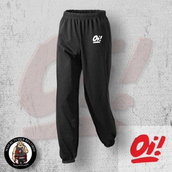 OI! RED JOGGER L / WEISS