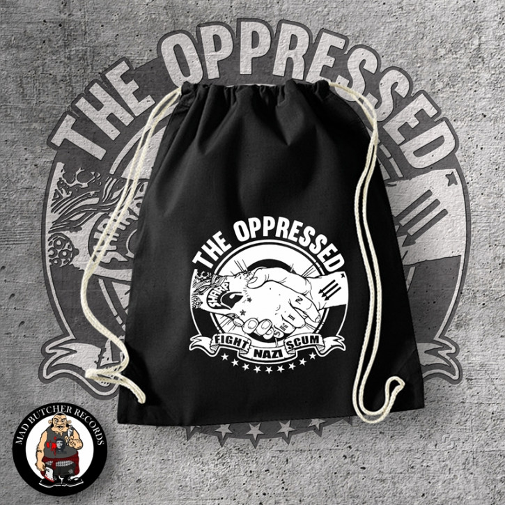OPPRESSED FIGHT NAZI SCUM GYM SAC