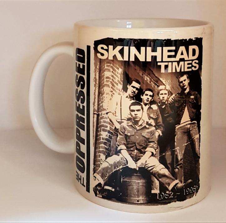 OPPRESSED SKINHEAD TIMES KAFFEEBECHER