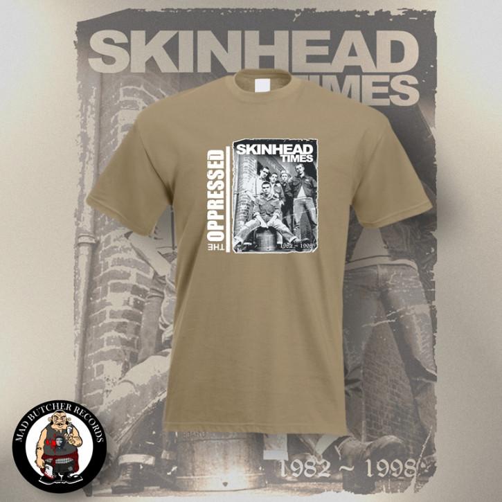 OPPRESSED SKINHEAD TIMES T-SHIRT 3XL / BEIGE