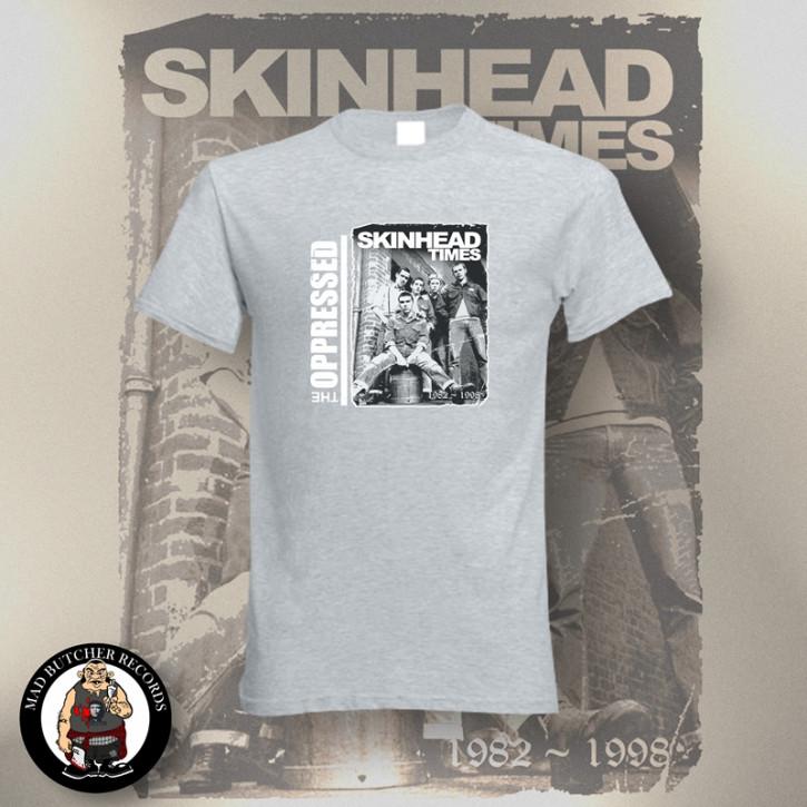 OPPRESSED SKINHEAD TIMES T-SHIRT XL / GRAU