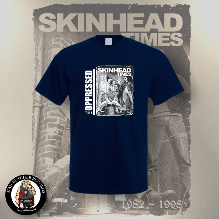 OPPRESSED SKINHEAD TIMES T-SHIRT 3XL / NAVY