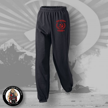 RED ACTION ANTIFA JOGGER