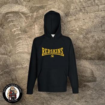 REDSKINS (Flock) HOOD Black / XL