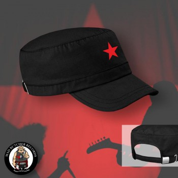 RED STAR ARMYCAP Black